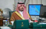 سمو الأمير فيصل بن خالد بن سلطان يرأس اجتماع لجنة الطوارئ بالحدود الشمالية
