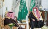 سمو الأمير فيصل بن خالد بن سلطان يستقبل رئيس جامعة الحدود الشمالية