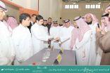 """""""العثمان"""" يفتتح معرض أسبوع العربي للكيمياء 2019 في ثانوية التميز العلمي بعرعر"""