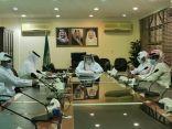 """""""العثمان"""" يرأس إجتماع لجنة القيادات الإدارية والتعليم في منطقة الحدود الشمالية"""