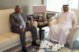سفير المملكة في الأردن يستقبل السفير الباكستاني في عمّان