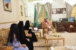 أمير الشمالية يقدم دعما ماليا 50 الف ريال لفريق الرسالة التطوعي بمحافظة رفحاء