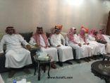 فرع وزارة العمل والتنمية الاجتماعية بالحدود الشمالية يعزون أسرة الشهيد السليم