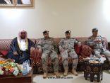 مدير هيئة الشمالية يلقي محاضرة بقيادة حرس الحدود بمحافظة العويقيلة بعنوان (وجوب البيعة ولزوم الجماعة )