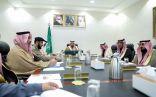 """الأمير فيصل بن خالد بن سلطان يرأس اجتماع الإدارات الحكومية لتفعيل مبادرة """"جاهز"""""""