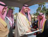 الأمير فيصل بن خالد بن سلطان يدشّن بلديات غرب وشرق مدينة عرعر والبلدية النسائية