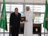 سفير المملكة العربية السعودية لدى الأردن يستقبل رئيس لجنة الشؤون الخارجية لمجلس النواب