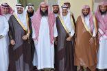 المدير العام لفرع وزارة الشؤون الإسلامية بمنطقة الحدود الشمالية يزور منزل رجل الأعمال حامد المدوح