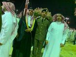 سعد مبارك الرويلي يحتفل بتخرج أبنه من كلية الملك فهد الأمنية برتبة ملازم