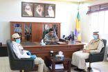 بالصور .. قائد قطاع حرس حدود بطريف يستقبل عدد من منسوبي القطاع الصحي