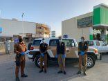 لرصد مخالفات الإجراءات الاحترازية .. شرطة الحدود الشمالية تكثف تواجدها الميداني في الأسواق الشعبية