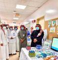 بالصور.. مدير القطاع الصحي بطريف يدشن حملة التوعوية بمضادات الميكروبات