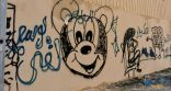 بالفيديو والصور … ظاهرة الكتابة على الجدران تشوه جداريات طريف والبلدية تنفذ حملة واسعة