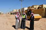 بالصور .. بلدي طريف ينفذ جولة ميدانية في حي الشفا والورود