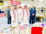 سفير خادم الحرمين الشريفين لدى الأردن بمعية الملحق الثقافي السعودي بمعرض عمان الدولي للكتاب