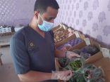 بالصور .. بلدية محافظة طريف تصادر كمية من الخضار والفاكهة يظهر عليها الفساد