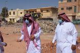 بالصور .. المهندس الضبعان يقف ميدانيا على عدد من المشاريع في المحافظة