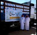 جمعية طريف الخيرية تساهم بألف كرتونه ماء بمبادرة (سقيا حاج)