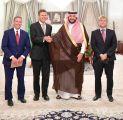 سمو الأمير فيصل بن خالد بن سلطان يستقبل مستشار الشؤون السياسية بالسفارة الأمريكية