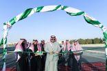 سمو أمير الحدود الشمالية يدشن مشروع تقاطع جسر حي المباركية مع طريق الملك فهد بتكلفة بلغت 46 مليون ريال