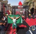 """بطل """"ترايثلون"""" سعودي يستعد للذهاب إلى روسيا بـ""""الدراجة"""" لمؤازرة المنتخب في كأس العالم"""